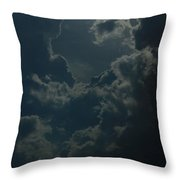 Storm Over Pittsburgh Throw Pillow