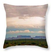 Storm Pass Throw Pillow