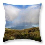 Storm Passing Over Morgan Territory Throw Pillow
