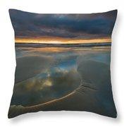 Storm Pool Throw Pillow