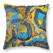 Storm Throw Pillow