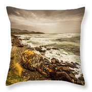 Storm Season Throw Pillow