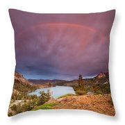 Storm Skies Over Echo Throw Pillow