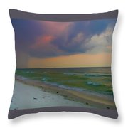 Storm Warning Throw Pillow by Bill Cannon