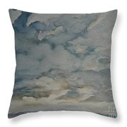 Storm Warning I Throw Pillow