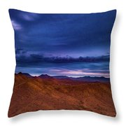 Stormline Above Mountains Throw Pillow