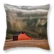 Storm's Coming Throw Pillow