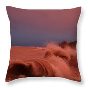 Storms On The Water Throw Pillow