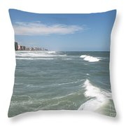 Storms Passing Throw Pillow