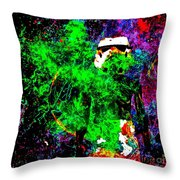 Star Wars Stormtrooper And Fire Throw Pillow