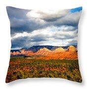 Stormwatch Arizona Throw Pillow