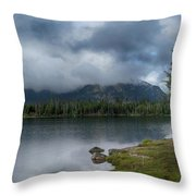 Stormy Morning At Dillon Throw Pillow