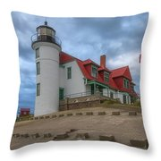 Stormy Point Betsie 2 Throw Pillow by Heather Kenward