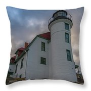 Stormy Point Betsie Throw Pillow by Heather Kenward
