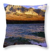 Stormy St Marys Throw Pillow