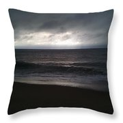 Stormy Sunrise Throw Pillow