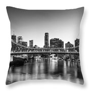 Story Bridge Brisbane Throw Pillow