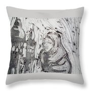 Story Of Two Sisters Throw Pillow