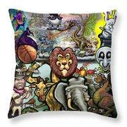 Storytime Throw Pillow