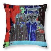 Stove Lady Number 3  Collage David Lee Guss Rare Photos Gallery Collage C.1880-2013 Throw Pillow