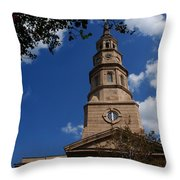 St.philips Church Charleston Sc Throw Pillow