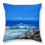 Stradbroke Island Throw Pillow