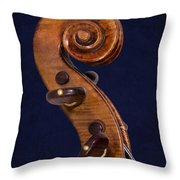 Stradivarius Scroll Throw Pillow