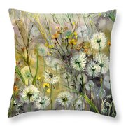 Straight To The Hills Throw Pillow
