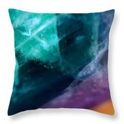 Strains Of Time Throw Pillow