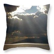 Strait Of Messina II Throw Pillow