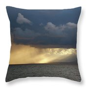 Strait Of Messina IIi Throw Pillow