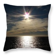 straits of magellan II Throw Pillow