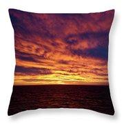 straits of magellan III Throw Pillow