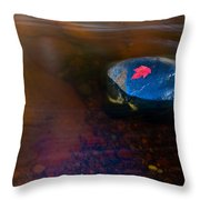 Stranded Leaf Throw Pillow