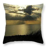 Strandhill Co Sligo Ireland Throw Pillow