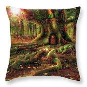 Strange Dreams 3 Throw Pillow