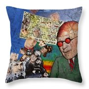 Strange How These Mortals So Loudly Complain Of The Gods Throw Pillow
