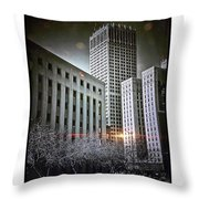 Strange Night II Throw Pillow