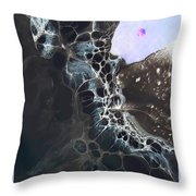 Strange Planet Throw Pillow