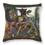 Strange Reverie Detail Throw Pillow