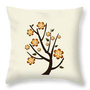 Strange Season Throw Pillow