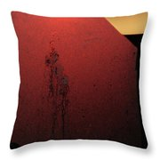 Strange Sunrise Out There Throw Pillow