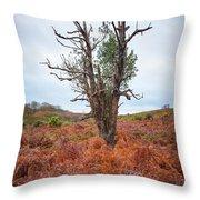 Strange Tree Throw Pillow