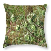 Strange Weed Throw Pillow