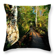Strangler Fig Throw Pillow