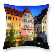 Strasbourg 1 Throw Pillow