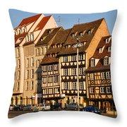 Strasbourg Throw Pillow