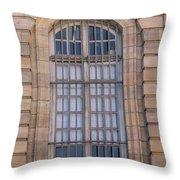 Strasbourg Window 08 Throw Pillow