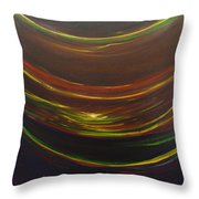 Strata Surf Throw Pillow