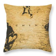 Strategy Of Wars Throw Pillow